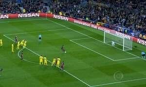Neymar é decisivo em mais uma vitória do Barcelona pela Liga dos Campeões