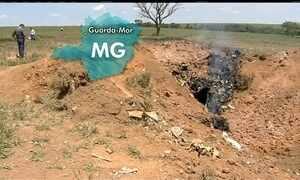 Avião com executivos do Bradesco cai na divisa de Goiás com Minas