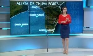 Sexta-feira (27) pode ter chuva forte em grande parte do Brasil
