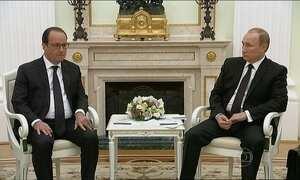 Rússia e França compartilham dados de inteligência no combate ao Estado Islâmico