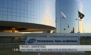 Diogo Ferreira e André Esteves estão em prisão preventiva