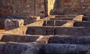Ruínas de Portugal contam histórias da época do Império Romano