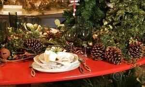 Veja como deixar a mesa de Natal ainda mais bonita