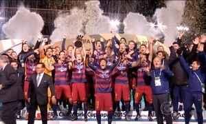 Barcelona vence River Plate por 3 a 0 e é tricampeão mundial