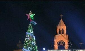 Terra Santa perde metade dos turistas no Natal por causa da violência