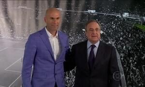 Real Madrid anuncia Zidane como novo treinador