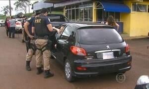 Polícia reclama de infrações cometidas por motoristas estrangeiros