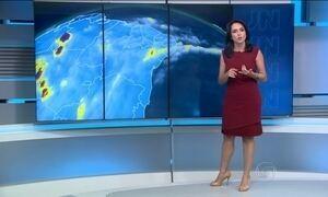 Previsão de chuva para o Nordeste neste domingo (10)