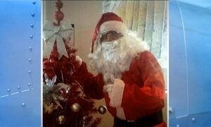 Homem que se vestiu de Papai Noel diz que roubo de helicóptero foi farsa