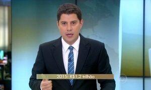 Arrecadação de tributos federais atinge R$ 1,2 trilhão em 2015
