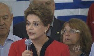 'Nós vamos estabilizar politicamente o país', declara Dilma Rousseff