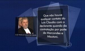 Lula diz que não sabia que o filho dele teria sido contratado por lobista