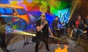 Roupa Nova comemora 35 anos de carreira com show no Fantástico