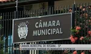 Suspeita de desvio de dinheiro afasta cinco vereadores em Rosana, SP