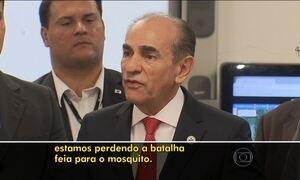 Ministro da Saúde diz que Brasil está perdendo batalha contra Aedes aegypti