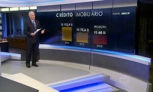 Brasileiros emprestaram R$ 75 bilhões para comprar ou construir imóveis em 2015