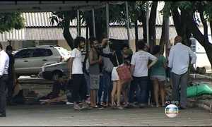 Grupo de estudantes ocupa Secretaria de Educação de Goiás, em Goiânia