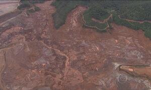 Barragem de Fundão em Mariana (MG) tem novo deslizamento