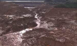 Novo deslocamento de lama assusta funcionários da Samarco em Mariana