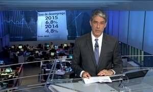 Taxa média de desemprego no Brasil sobe para 6,8%