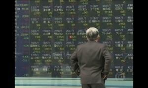 Banco Central do Japão fixa taxa de juros negativa
