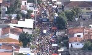 Prévias de carnaval animaram o sábado no Recife e em Olinda