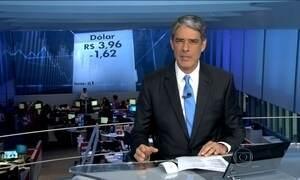 Real tem dia de valorização em relação ao dólar