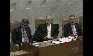 Janot e Cunha não se cumprimentam na abertura do ano no Judiciário