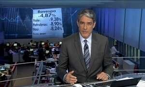Bolsa de valores de São Paulo recua quase 5% nesta terça-feira (2)