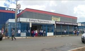 Onda de violência em Brasília chega à porta das escolas