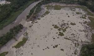 Barragem se rompe no interior de São Paulo e deixa 500 mil sem água