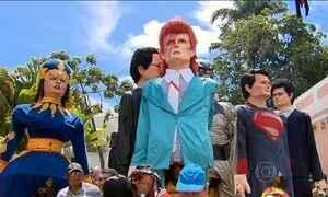 Olinda tem desfiles com 80 bonecos gigantes