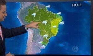 Previsão é de mais chuva no estado de São Paulo
