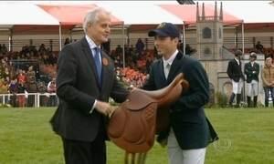 Cavaleiro olímpico é treinado pelo filho do preparador físico de Ayrton Senna