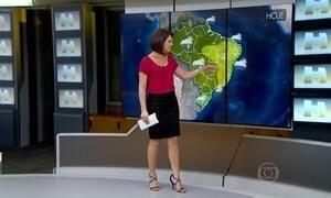 Previsão é de tempo quente em todo o Brasil