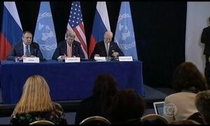 Russos e americanos anunciam plano de cessar-fogo para a Guerra Civil na Síria