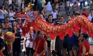 Comunidade chinesa em SP celebra Ano Novo chinês