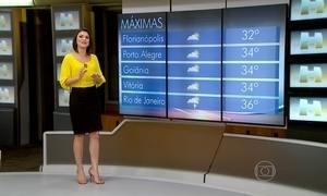 Temperaturas ficam altas em Porto Alegre nesta quinta (18)