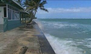 Nível do mar pode subir até 1 metro e 30 centímetros até o ano de 2100