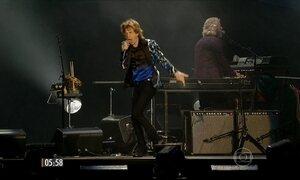 Rolling Stones voltam a se apresentar em SP e enlouquecem os fãs