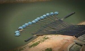 Volume útil de água armazenada no Sistema Cantareira chega a 35%