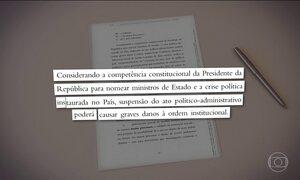Janot pede ao STF que nomeação de Lula como ministro seja mantida
