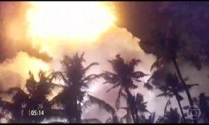 Explosão em um templo mata 110 pessoas na Índia
