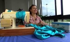 Diarista de costura ganha mais com a crise e corta gastos dos clientes