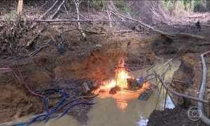 Garimpo ilegal na maior reserva indígena do país é alvo de operação