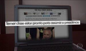 Temer dá entrevista a jornais estrangeiros e rebate Dilma