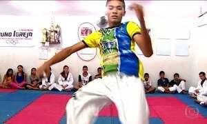 Venilton Teixeira (AP) é esperança de medalha no taekwondo para o Brasil