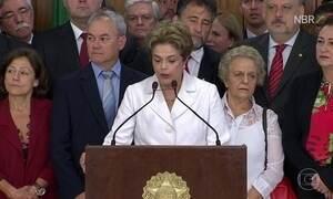 """""""Posso ter cometido erros, mas não cometi crimes"""", diz Dilma Rousseff"""
