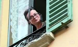 Invenção cria proximidade entre vizinhos de rua em Bologna, na Itália