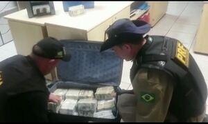 Polícia Rodoviária apreende US$ 2,4 milhões com casal